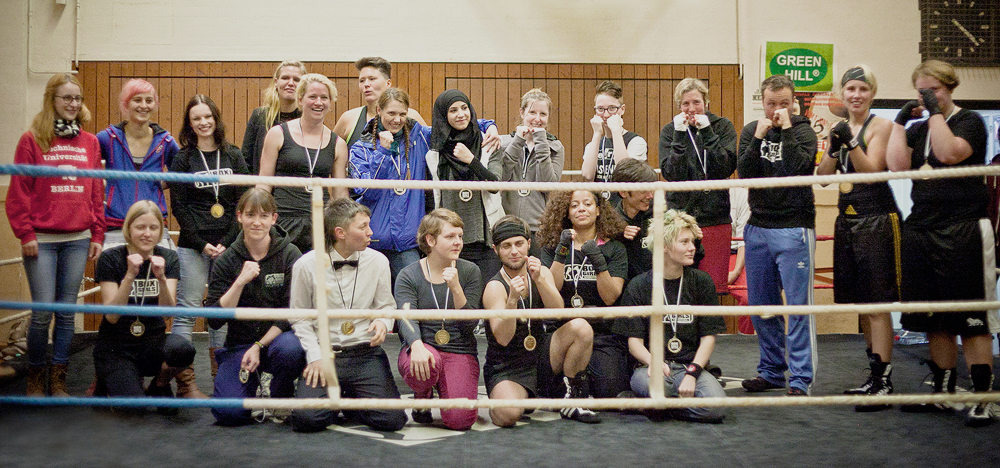 Boxgirls Berlin Competition II